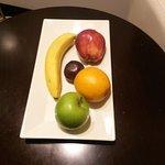 Frutas de Cortesia en la Habitacion