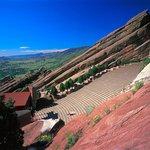 Red Rocks Amphitheater near Lakewood