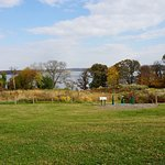 View of the meadow and Potomac River from the River Farm House