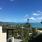 View from outside my apartment of Airlie beach