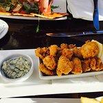 Yum, fresh calamari