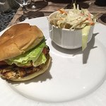 Crab Cake Sandwich - Avoid the bun and cole slaw.