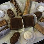 I have enjoyed Dimitri's Greek Pastries. The are from the Fournos Bakery on Athens Street.