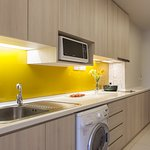 Kitchen of One Bedroom Executive
