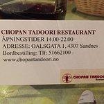 Photo of Chopan Tandoori Sandnes
