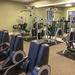 Another view of the fitness center