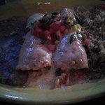 Seafood Enchiladas. No bueno.