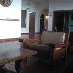 Lobby del Hotel San Alberto