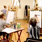 Kimball Art Center offers art classes for all ages.