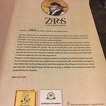 Zepos Restaurant Foto