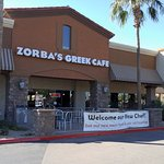 "Zorba's Greek Cafe - ""Welcome our New Chef! See our new menu items and your old favorites"""