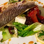 Seabass (sometimes on the Specials board)