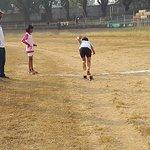 Practice of Relay Race at Jayanti Stadium!