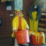 huge bucket of fish