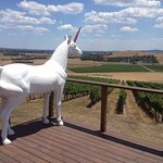 Bruce the Unicorn at Helen and Joey Estate Yarra Valley