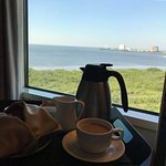 Starbucks Coffee in room with views of the Bay (Rm 810)