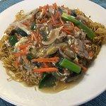 Steamed duck noodle