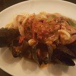 Autumn seafood bowl! Awesome.