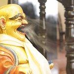 Launging buddha