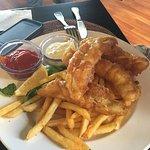 Tempura Mahi Fish and chips