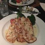 The Macadami Nut Crusted chicken - hubby had the steak