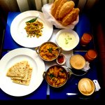 Most delicious Indian good i had in hotel room service .