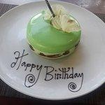 Glazed Mint Cake