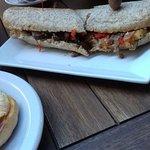 sandwich baguette vegetariana