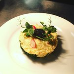 Scrambled duck egg, smoked trout and caviar
