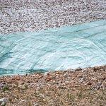 Side-cut of the glacier
