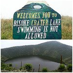 Affordable place for hiking in # Rwanda, is #Bisoke crater lake hike.