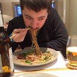 Me eating...