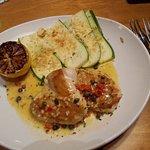 Chicken Piccata, Olive Garden, Langley, BC