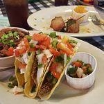 Wonderful fish tacos