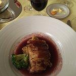 Pork and chestnut mousse