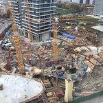 Blick auf die Baustelle, 7 Tage in Betrieb!!