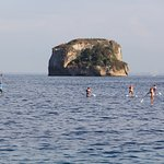 Travel to Los Arcos Marine Park by SUP with Paddle Zone