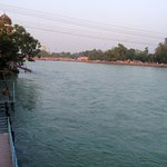 The Holy River, Ganges, from Haveli Hari Ganga
