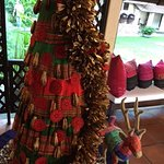 December brings Christmas decorations with a Thai twist