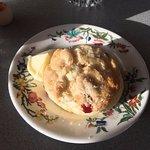 Cranberry scone