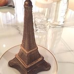 Tour Eiffel in the chocolate