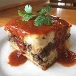 Pastitsio special made by Zachary! Incredible!