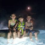 Night Swimming! The kids love it!