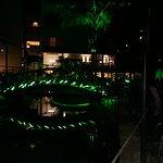The power lobby In night