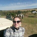Traffic jam) Masai Mara