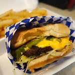 Green Chile Cheeseburger!