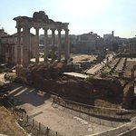 Roman Forum it' s big grounds that you can explore on your own