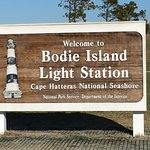 Sign of the Bodie Light House