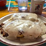Biscuits and Gravy with sausage