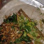 chorizo and pork tacos